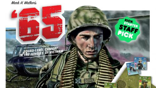 Mark H. Walker s  65 Squad-Level Combat in Vietnam Boardgame