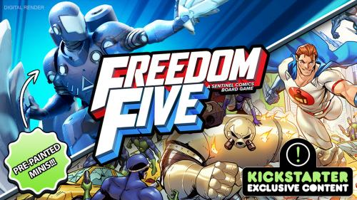 Freedom Five: A Sentinels Comics Board Game