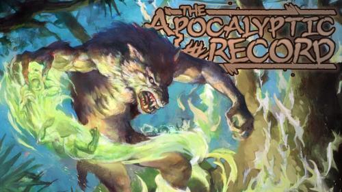 Apocalyptic Record for Werewolf: the Apocalypse 20th Ann. Ed