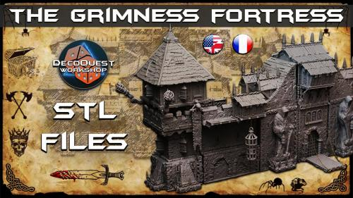 The Grimness Fortress, 3D printable STL files