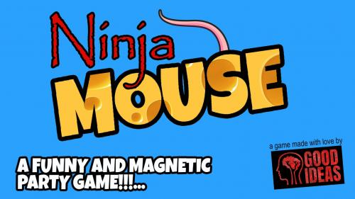 Ninja MOUSE, the magnetic party game!