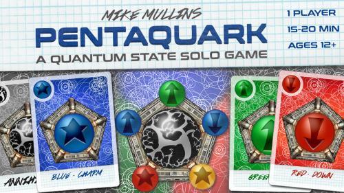 Pentaquark - A solo microgame in a quantum state.