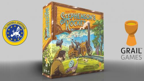 Stephenson s Rocket - The classic board game returns!