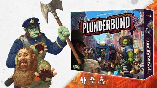 PLUNDERBUND, the Back Alley Business Board Game