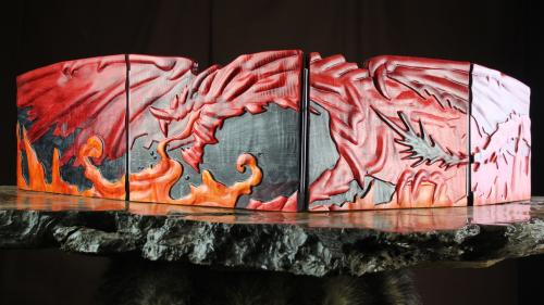 Kickstarter Exclusive Fire Dragon Valhalla Screen