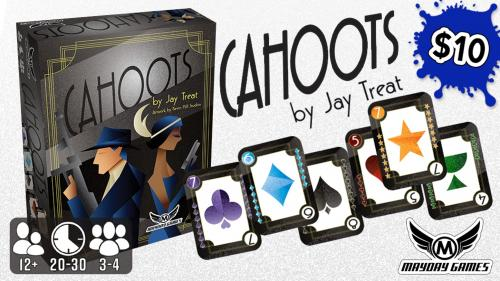 "Cahoots Card Game of ""Co-opetition"" 3-4 Players by Jay Treat"