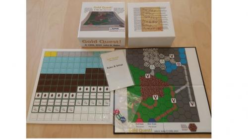 Gold Quest! -- the board game (manufactured version)