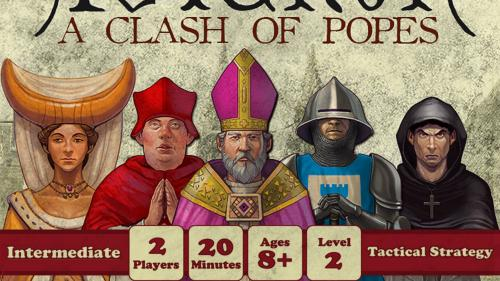 Avignon: A Clash of Popes - A two player micro card game.