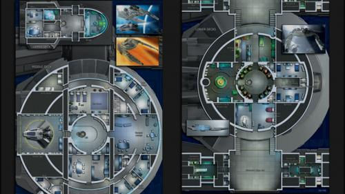 Cygnus: Starship Deckplans