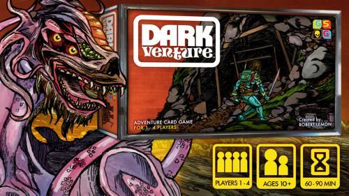 Dark Venture: An Adventure Card Game
