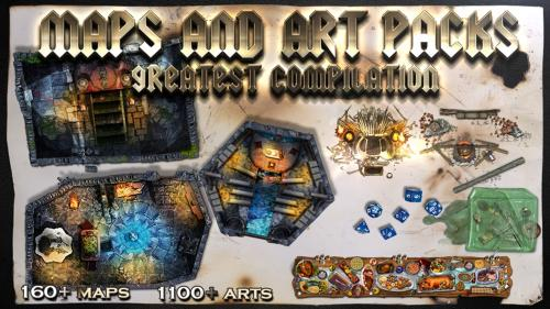 Map and art pack 3 years Compilation at 1 price!