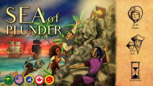 Sea of Plunder (Relaunch)- A Treasure Hunting Game!