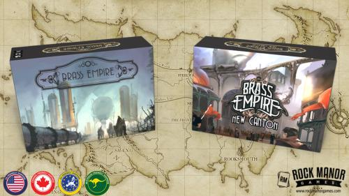 Brass Empire: New Canton Expansion + Original Reprint