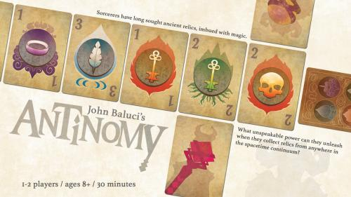 Antinomy - A game of complex maneuvers of time and space.
