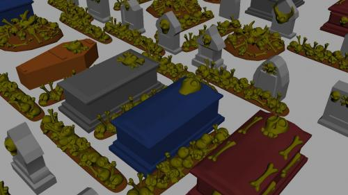 3d Printable Models for Tabletop Gamming