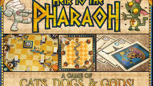 Heir to the Pharaoh: A 2-Player Game of Cats, Dogs & Gods!