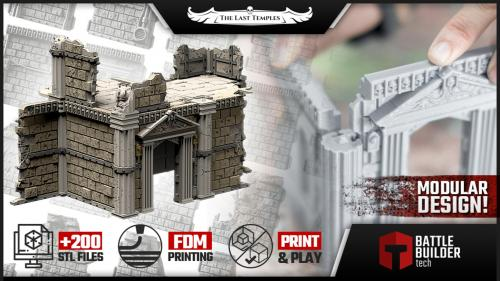 BATTLE BUILDER TECH: The Last Temples