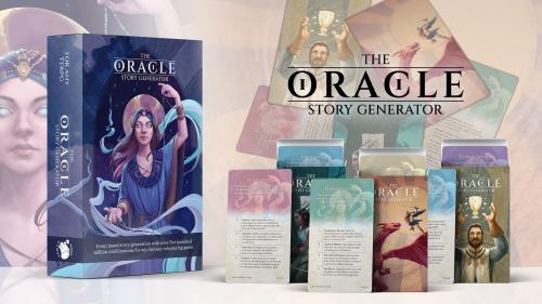 The Oracle Story Generator Tarot-Sized Cards