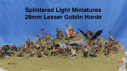 28mm Lesser Goblin Horde