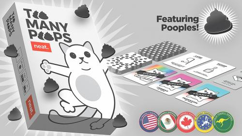 Too Many Poops, a game about cats