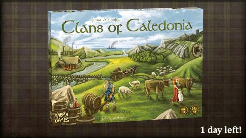 Clans of Caledonia: A Game about Whisky, Trade, and Glory