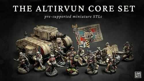 Lore Miniatures - The Altirvun Core set