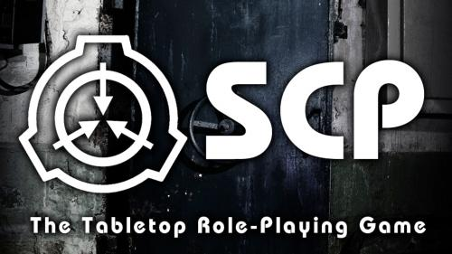 SCP The Tabletop Role-Playing Game