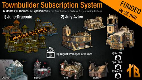 Townbuilder Subscription System