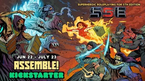 S5E: Superheroic Roleplaying for 5th Edition