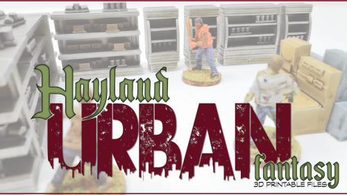 Urban Fantasy : 3D Printable Files