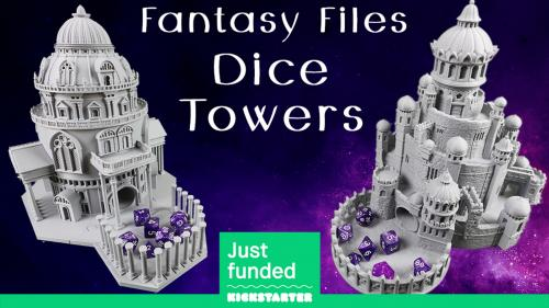 Fantasy Files Dice Towers