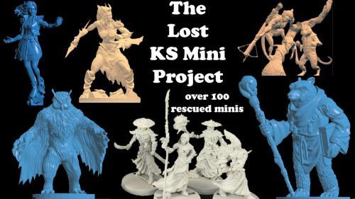 Impact! Miniatures Presents: The Lost KS Mini Project