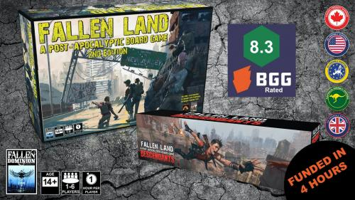 Fallen Land 2nd Edition Big Box & Descendants Expansion