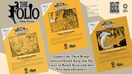 Retro RPGA Inspired 1E&5E Mini-Adventure Set
