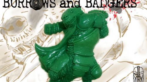 Burrows & Badgers - anthro animal miniatures