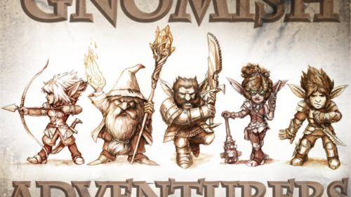 Gnomish Adventurers Box Set