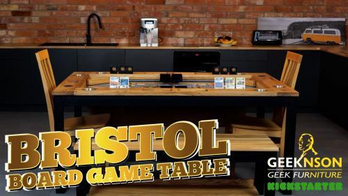 The Geeknson Bristol Board Game Table