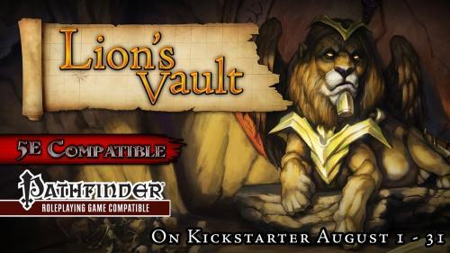 Lion s Vault Module for 5th Edition D&D & Pathfinder RPG