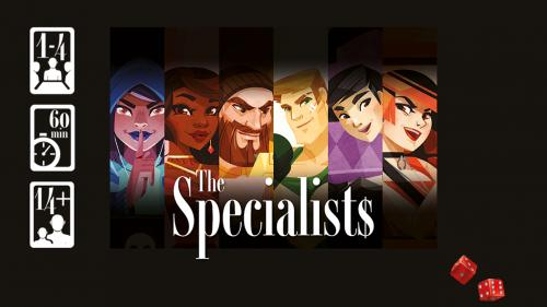 THE SPECIALISTS - Boardgame