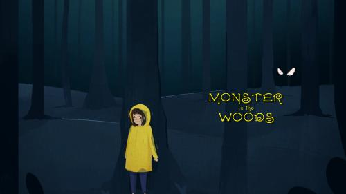 Monster in the Woods 2nd Print