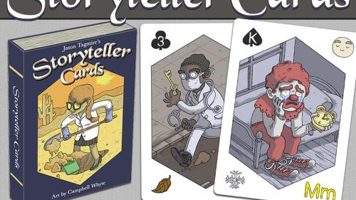 Storyteller Cards: A Playing Card Deck To Inspire Creativity