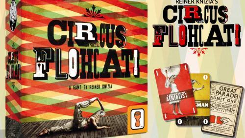 Reiner Knizia s Circus Flohcati
