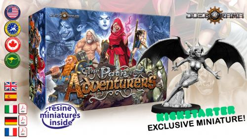 The Path of the Adventurers Boardgame