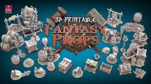 3D Printable Fantasy Props