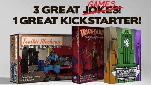 Meta Games II: Joke Games that are Serious Fun!