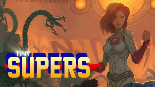 Tiny Supers: Minimalist Superhero Roleplaying