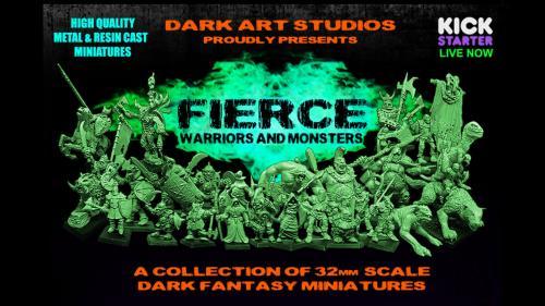 Fierce - Warriors & Monsters
