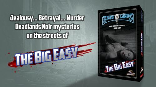 The Big Easy: A Deadlands Noir Card Game