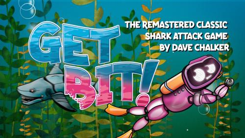 Get Bit!   The Remastered Classic Shark Attack Game!
