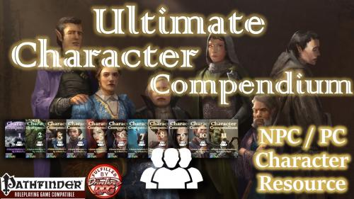 Ultimate Character Compendium for Pathfinder RPG